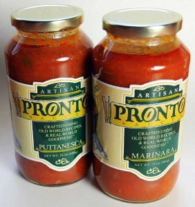 Pronto Artisan Sauces